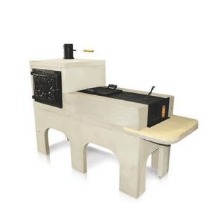Fogão a Lenha pré-moldado com forno de ferro fundido opcional
